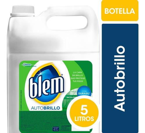 blem autobrillo incoloro bidon 5 litros - 3 bidones