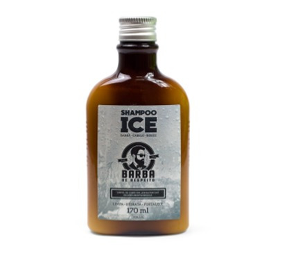 blend barba de respeito 30 ml + shampoo ice 170ml (original)