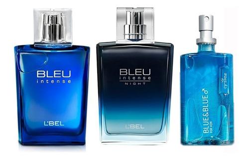 bleu intense, bleu intense night y blue - l a $176