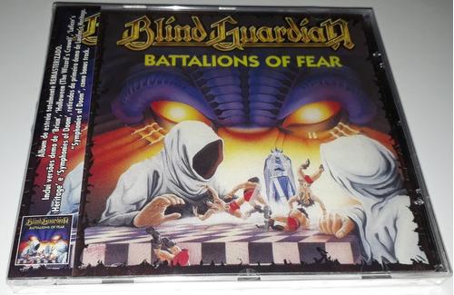 blind guardian - battalions of fear (cd lacrado)