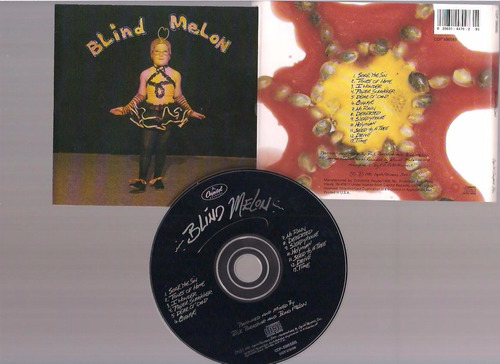 blind melon  - blind melon -  cd - by maceo