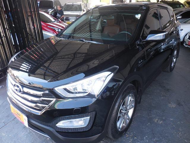 Blindado Hyundai Santa Fe 3.3 7l 4wd Aut 2014 Preta Nivel3a