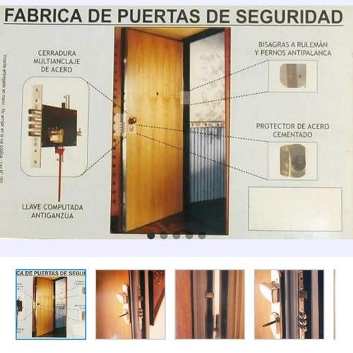 blindaje de puerta existente villa devoto
