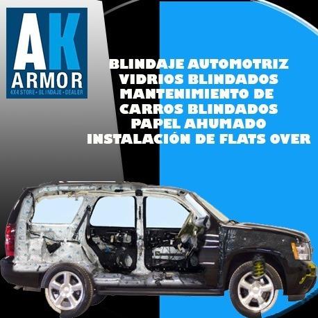 blindaje de vehículos y venta de vehículos blindados