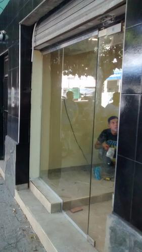 blindex  vidrios templados, puertas templada; paños fijos