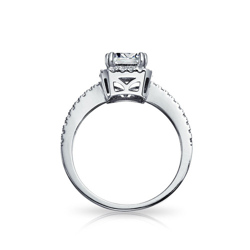 bling jewelry emerald cut 1.5ct cz vintage style .925 ani
