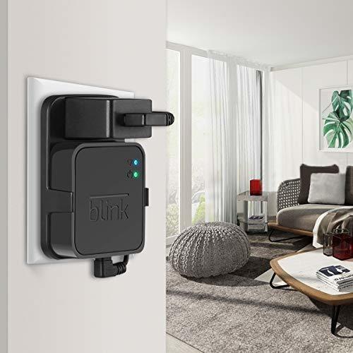 Soporte de Pared para m/ódulo de sincronizaci/ón de Parpadeo Accesorios para Blink XT Blink XT2 para c/ámara de Seguridad en Interiores y Exteriores con Cable Corto