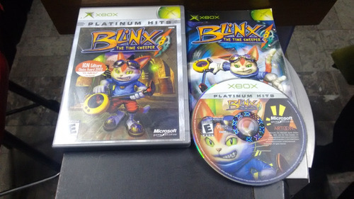 blinx the time sweeper completo para xbox normal