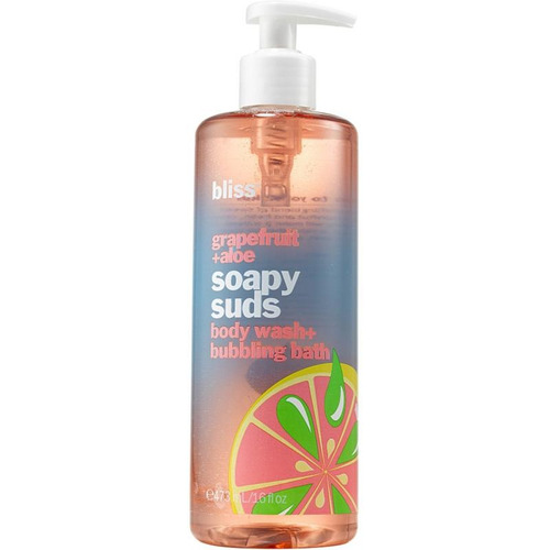 bliss - soapy suds - grapefruit + aloe - body wash