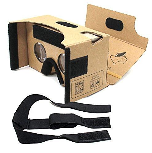 blisstime google cartón v2.0 3d glasses vr kit de cartón de