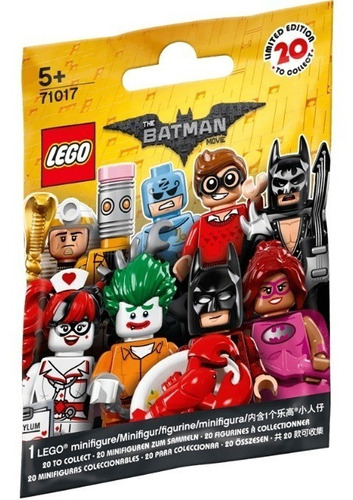 blister mini figura lego batman - lego original nuevo