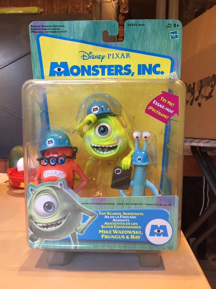 Blister Monster Inc X 3 Disney Pixar Hasbro