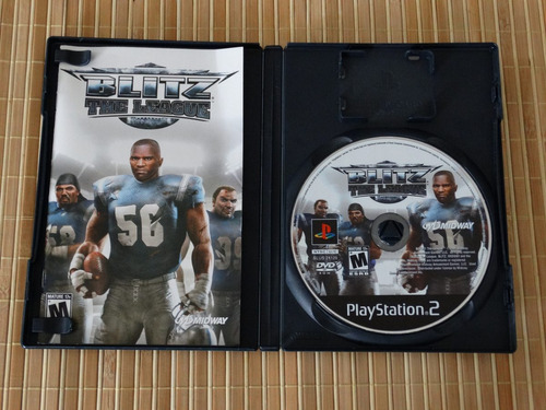 blitz: the league ps2 sony playstation 2