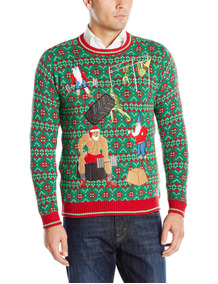 Blizzard Bay Crossfit Para Hombre Santa And Elves Ugly Ch
