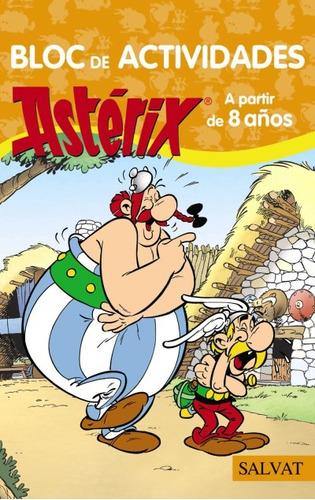 bloc de actividades astèrix(libro infantil y juvenil)