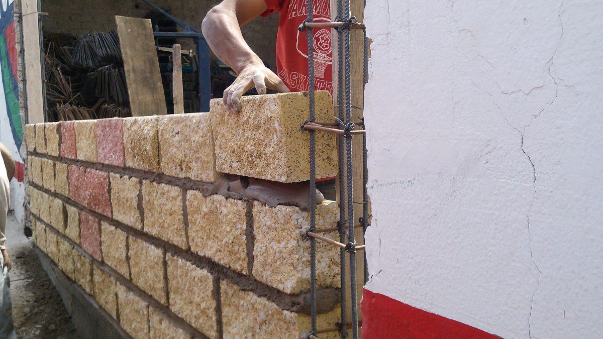 Block 1 cara de piedra en mercado libre for Precio del mercado de concreto encerado