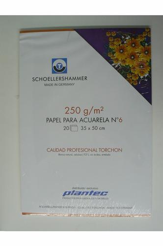 block acuarela 250g 35 x 50 schoellers torchon  (16566)