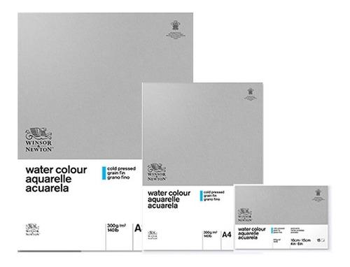 block clasic papel acuarela 26x36 grano fino winsor & newton