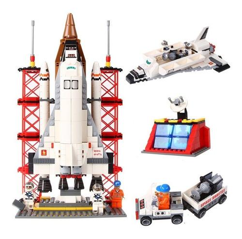 block de ensamble y construcción  transbordador espacial
