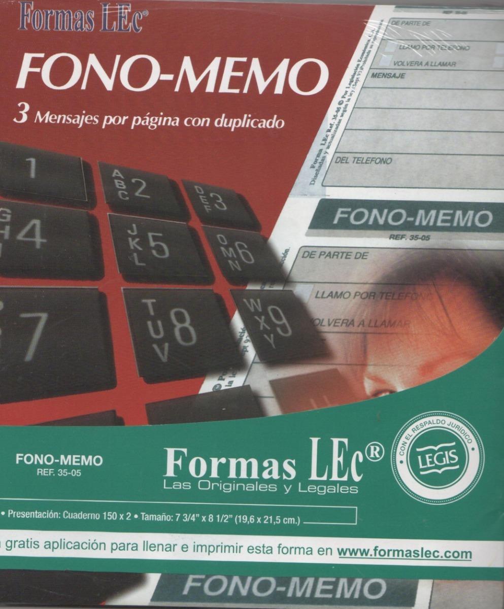 Block Fono - Memo De Formas Lec - Bs. 250,00 en Mercado Libre
