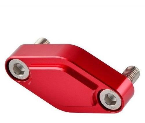 block off cubre caliper rojo yamaha yfz450r yfz nicecnc