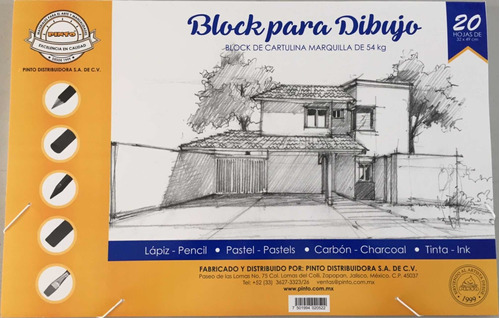 block tabla marquilla mediano pinto 32 x 49 cm