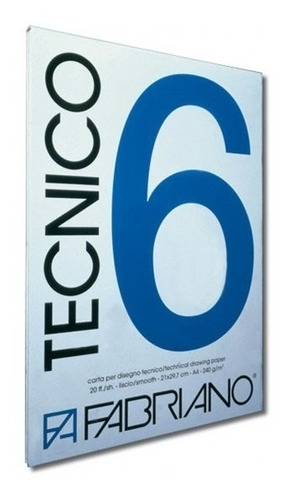 block tecnico 6 fabriano 21 x 29,7 cm
