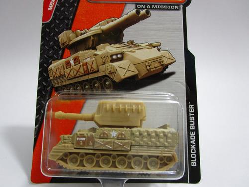 blockade buster tanque guerra matchbox miniatura b4