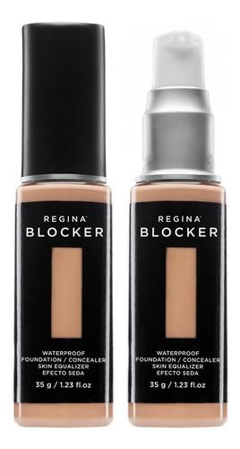 blocker | base cubritiva todo tipo de piel acabado natural
