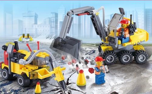 blocks de construcción - set 4 modelos en 1