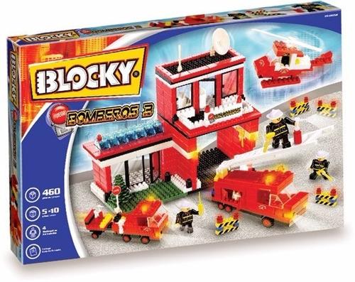 blocky bomberos 3 (480 pzas) juguetería marruecos rosario