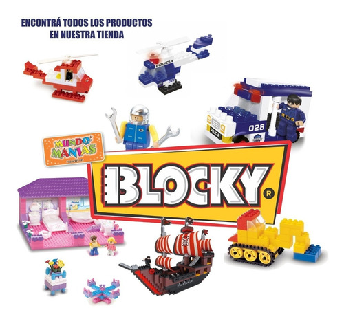 blocky fantasia 1 para nenas con 105 piezas  mundo manias