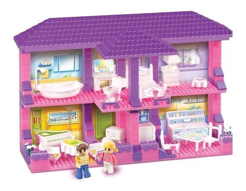 blocky house casa 4 ambientes 230 piezas 01-0645 educando