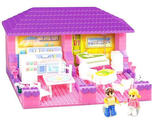 blocky house living y cocina 90 pzas 01-0643 educando