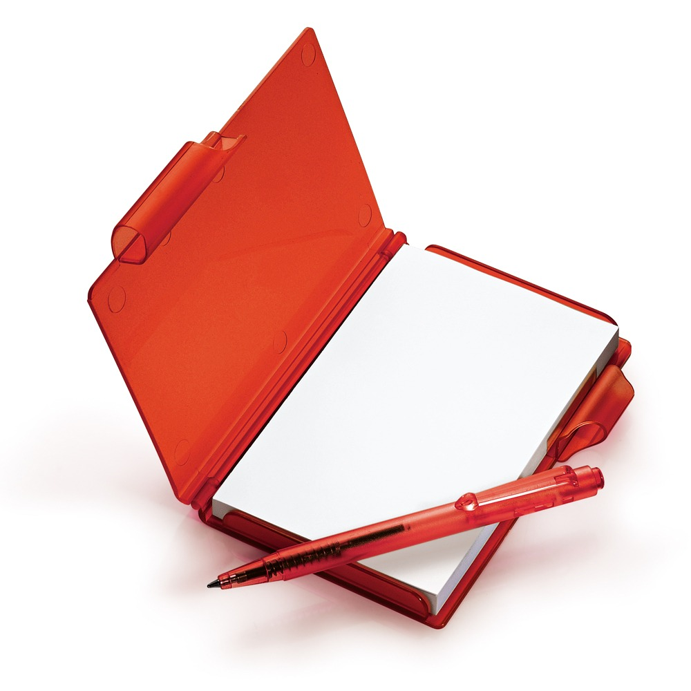 Primeiro Arco de Ume: Ato V - A Casa da Árvore Bloco-de-anotacoes-vermelho-contendo-70-folhas-e-caneta-D_NQ_NP_13406-MLB20077218546_042014-F