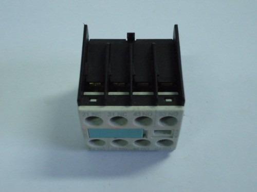 bloco de contato auxiliar siemens 3rh19 11-1aa01 1nf