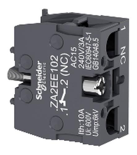 bloco de contato xa2e 1nf; schneider; za2ee102