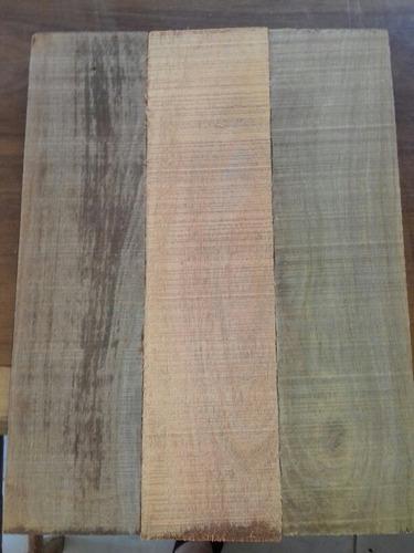 bloco de madeira para cabo de facas cutelaria