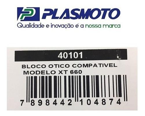 bloco do farol xt 660 todas plasmoto