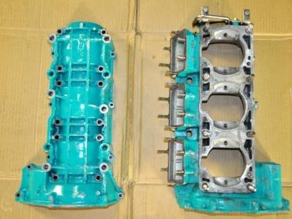 bloco do motor - kawasaki - jet ski - zxi - stx - 900/1100cc