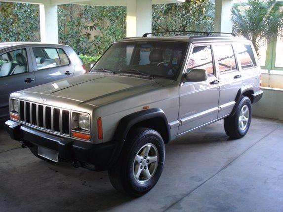Bloco Farol Jeep Cherokee Sport 1997 A 2001