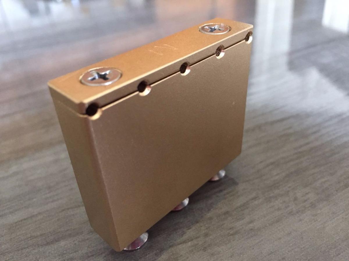 Bloco Manara Brass Block Floyd Rose® / Schaller® Style