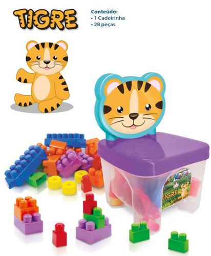 bloco montar brinquedo