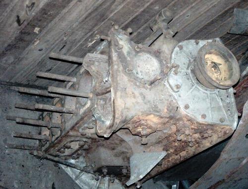 bloco motor parcial std alfa romeo fnm jk 2000 2100 2150 virabrequim biela pistão volante polia suporte - para restauro