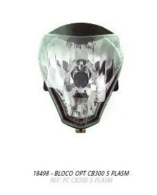 bloco óptico farol cb300 plasmoto