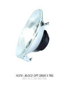 bloco óptico farol cb500
