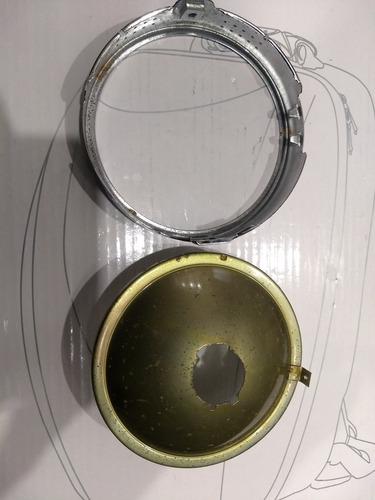 bloco otico com aro farol dt 180 82 redondo orig c/detalhes