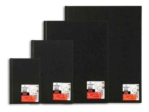 bloco sketchbook canson one 98fls 100g/m2 a5(14,8cmx21cm)