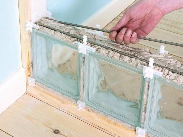 Bloco tijolo tijolinho de vidro 19x19x8cm para casa balc o - Como colocar ladrillos de vidrio ...