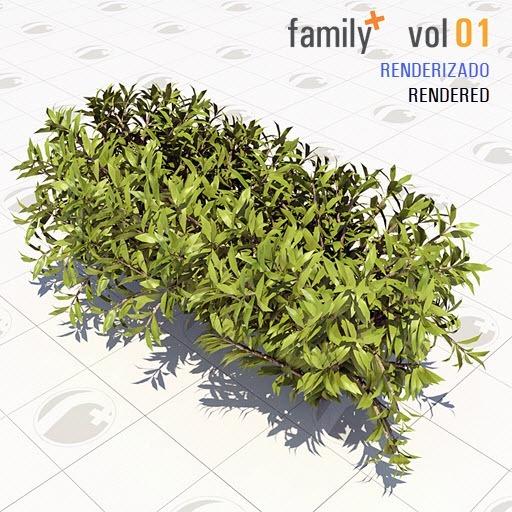 Blocos De Famílias Revit Vol1 - Vegetação